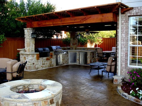 outdoor kitchen design ideas backyard custom pergolas paradise outdoor kitchens outdoor 850