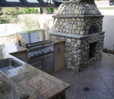 Custom Pizza Ovens Paradise Outdoor Kitchens Outdoor