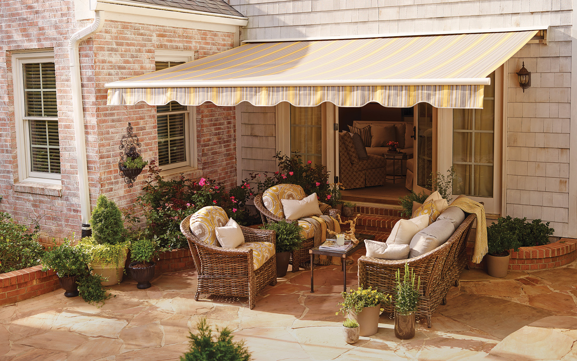Custom Outdoor Awnings Paradise Outdoor Kitchens