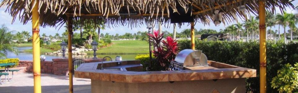 Custom Tiki Huts Paradise Outdoor Kitchens Outdoor