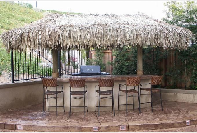 Custom Tiki Huts - Paradise Outdoor Kitchens • Outdoor ... on Backyard Tiki Hut Designs id=17618