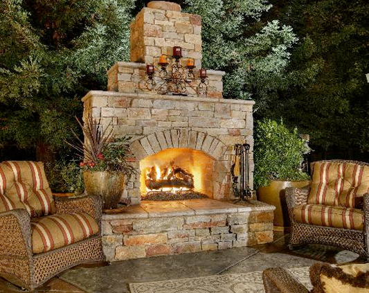 custom fireplaces fire pits west palm beach outdoor kitchen fl. Black Bedroom Furniture Sets. Home Design Ideas