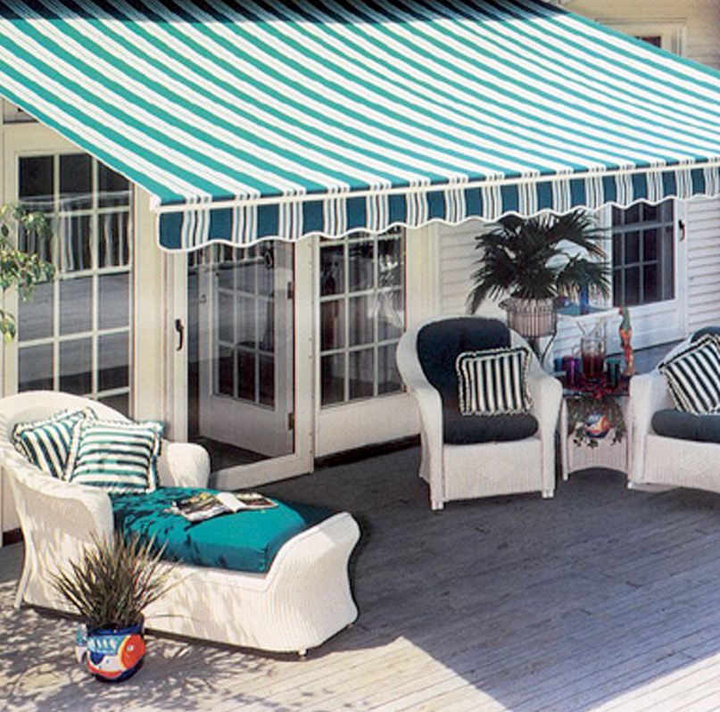 Custom Retractable Awning Paradise Outdoor Kitchens