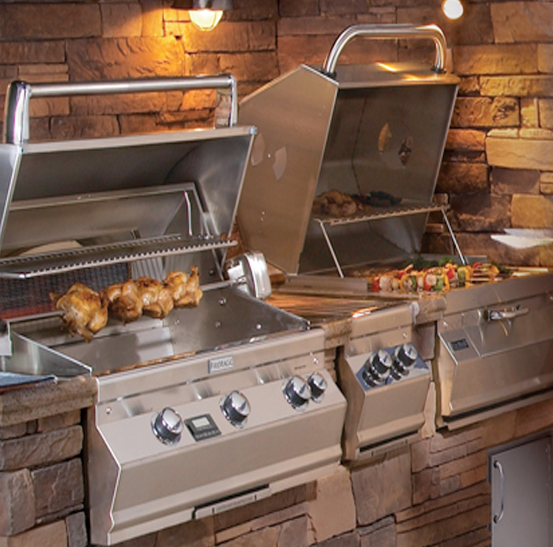 Gas Grills by Fire Magic - Paradise Outdoor Kitchens ...