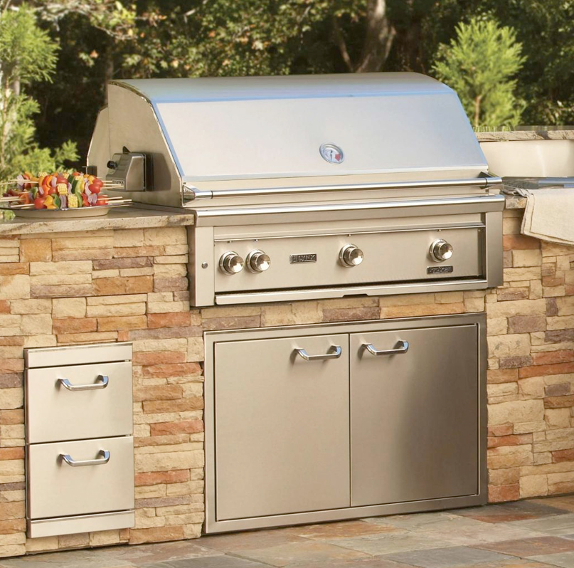 gas grills by lynx paradise outdoor kitchens outdoor grills outdoor awnings backyard